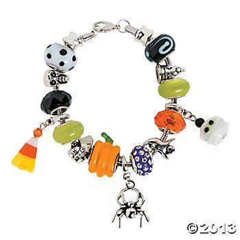 halloween glass beads jewelry making