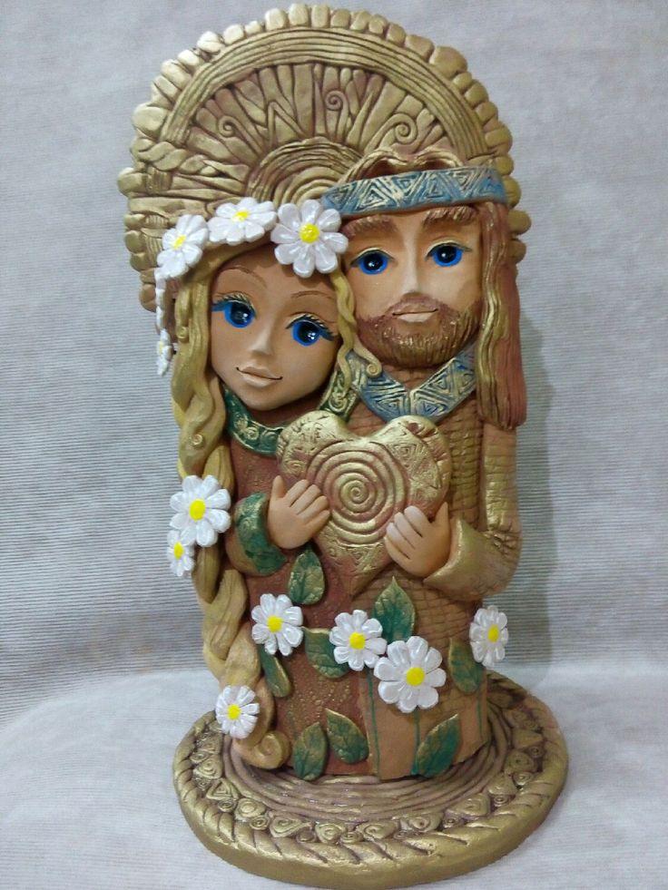 Купить Петр и Феврония. - подарок на свадьбу, любовь позитив счастье, оберег для семьи, обереги в подарок