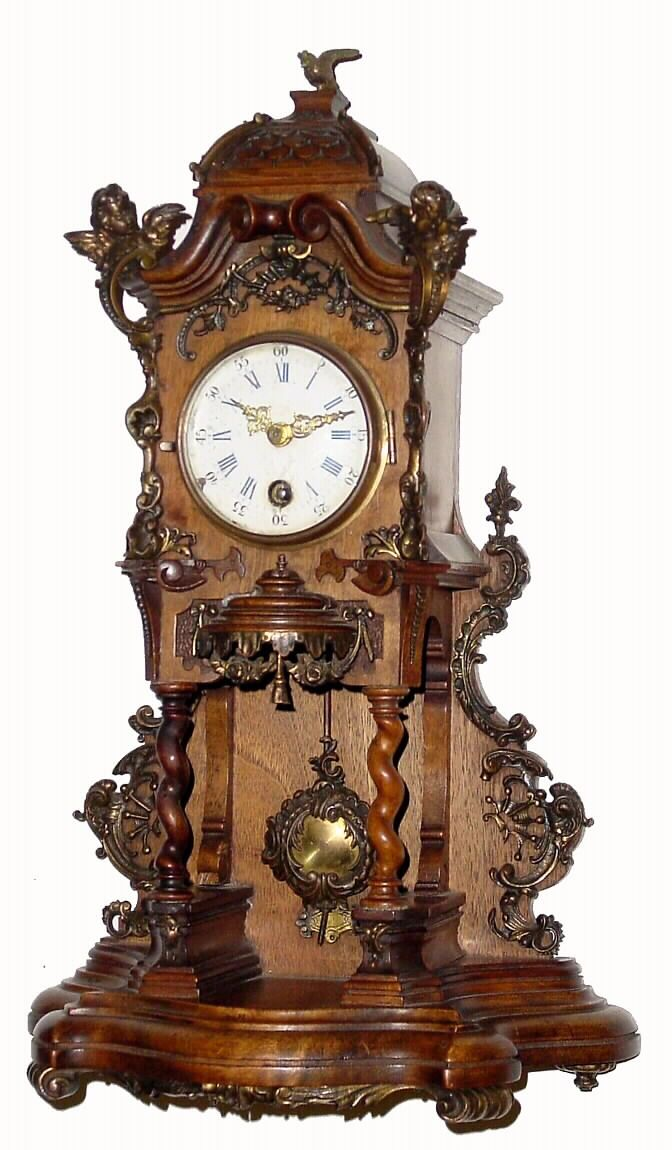 Antique Clock Details