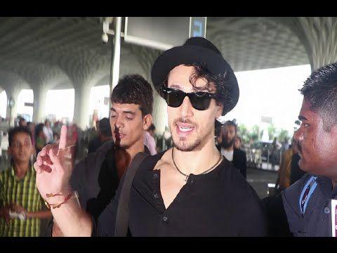 FLYING JATT ! Tiger Shroff & Jacqueline Fernandez spotted at Mumbai airport.