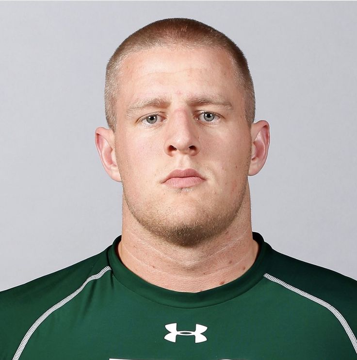 JJ's NFL Combine Picture (2011)... so serious!