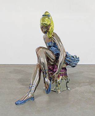 Seated Ballerina by Jeff Koons