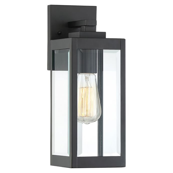 Quoizel Westover 1 Light 14 25 Inch Wall Mount Outdoor Wall Lantern In Earth Black Wall Lantern Outdoor Walls Outdoor Wall Lighting
