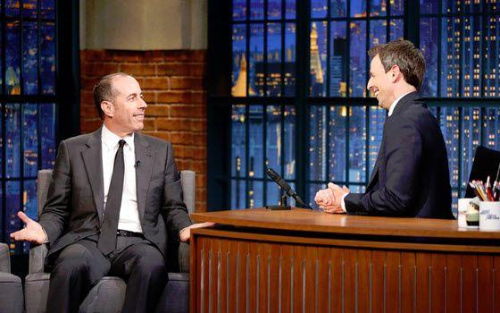 Jerry Seinfeld talks Seinfeld streaming on Hulu on Late Night with Seth Meyers