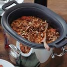Wow...I would love to have this slow cooker with the insert to brown items first.