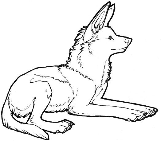 maned wolf coloring pages anime type wolf colouring pages page