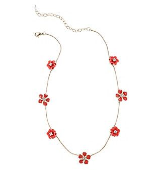 Napier® Stationed Illusion Collar Necklace