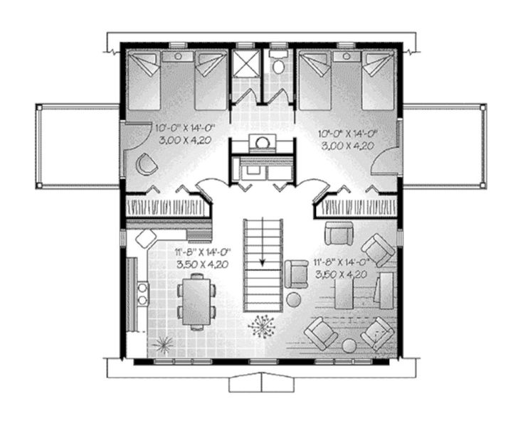 52 Creative Two Bedroom Apartment Plans Ideas (With images ...