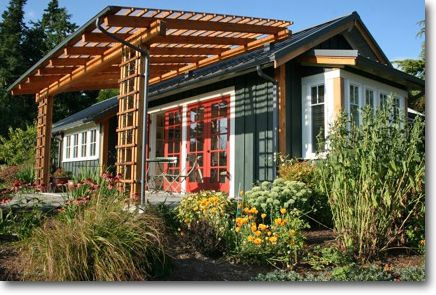 32 best ross chapin houses images on pinterest small for Backyard bungalow plans