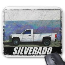 2013 Silverado 3500HD Regular Cab LT Dually 4x4 Mouse Pad