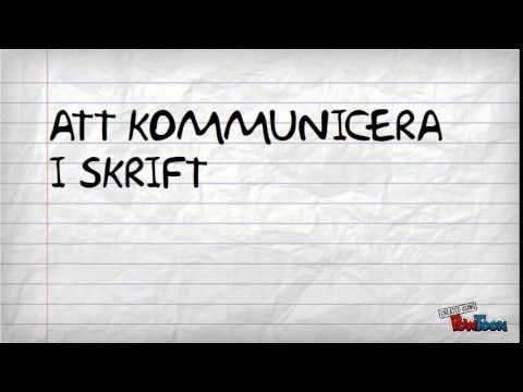 Förmågorna i svenska och engelska