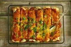 Fredag aften ønskede familien sig mexicansk mad – eller mere nøjagtigt enchiladas med det hele. I vores familie vil det sige pulled chicken fyldte tortillas, som overhældes med en stærk tacos…