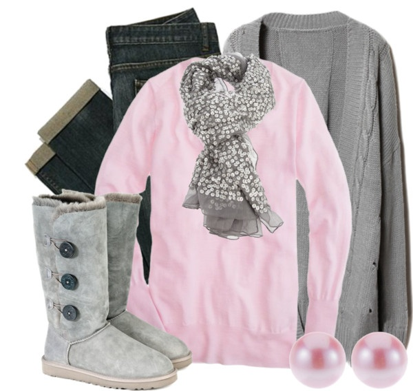 """Pink & Grey"" comfs"
