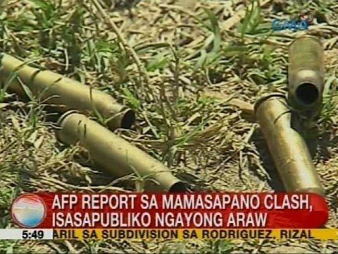 Recent uploads on Mamasapano shootout-14: UB: AFP report sa Mamasapano clash, isasapubliko ngayong araw - YouTube