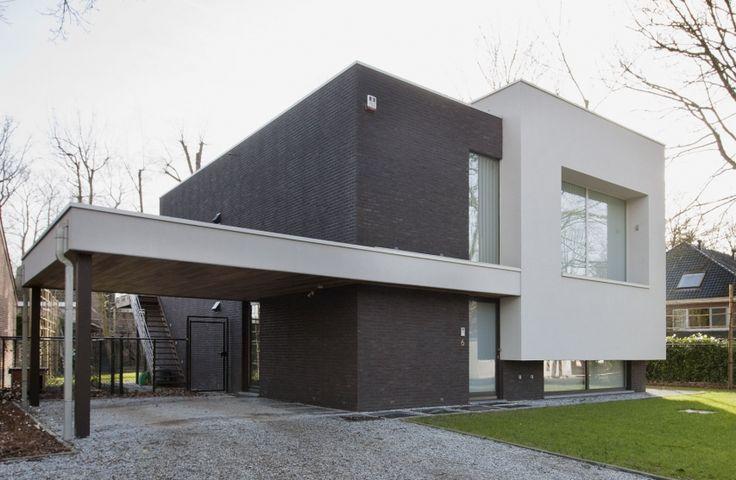 Meer dan 1000 idee n over modern huis exterieur op pinterest moderne huizen ontwerpen huis - Exterieur ingang eigentijds huis ...