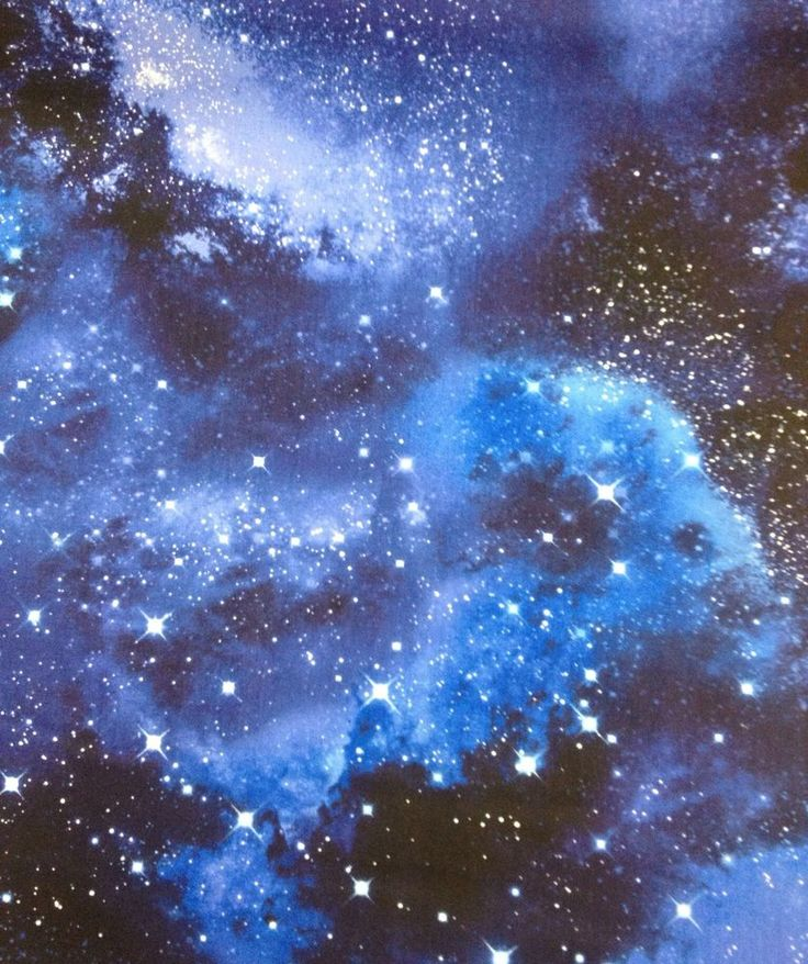 Cr512 space galaxy stars twilight starry night sky cotton for Starry sky fabric