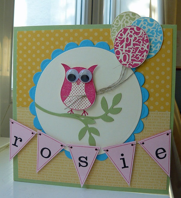 Card for Rosie by SarahLP1, via Flickr