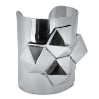 Lotus Mendes Power of the Pyramid Cuff - Silver