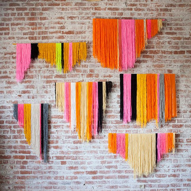 100 Creative Diy Wall Art Ideas To Decorate Your Space Creative The Shape And Yarns