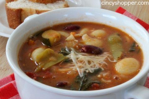 Copycat Olive Garden Minestrone Soup Recipe Gardens Olives And Olive Garden Minestrone Soup