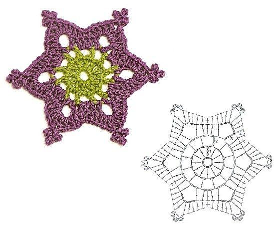 crochet club.net  - snowflakes and flowers etc.