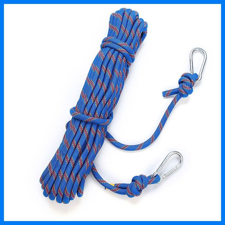 15M Outdoor Survival Paracord Climbing Rope Cord String Safety Lifeline 3KN Professional Climbing Safety Rope Rescue kits