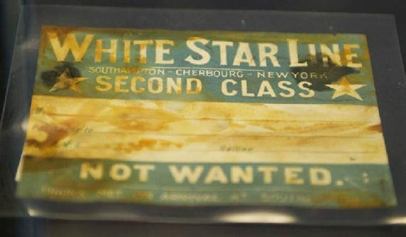 Artifacts from the RMS Titanic ready for auction...