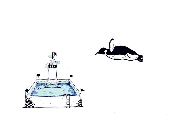 + Penguins fly [Only you are ready for a bath.]