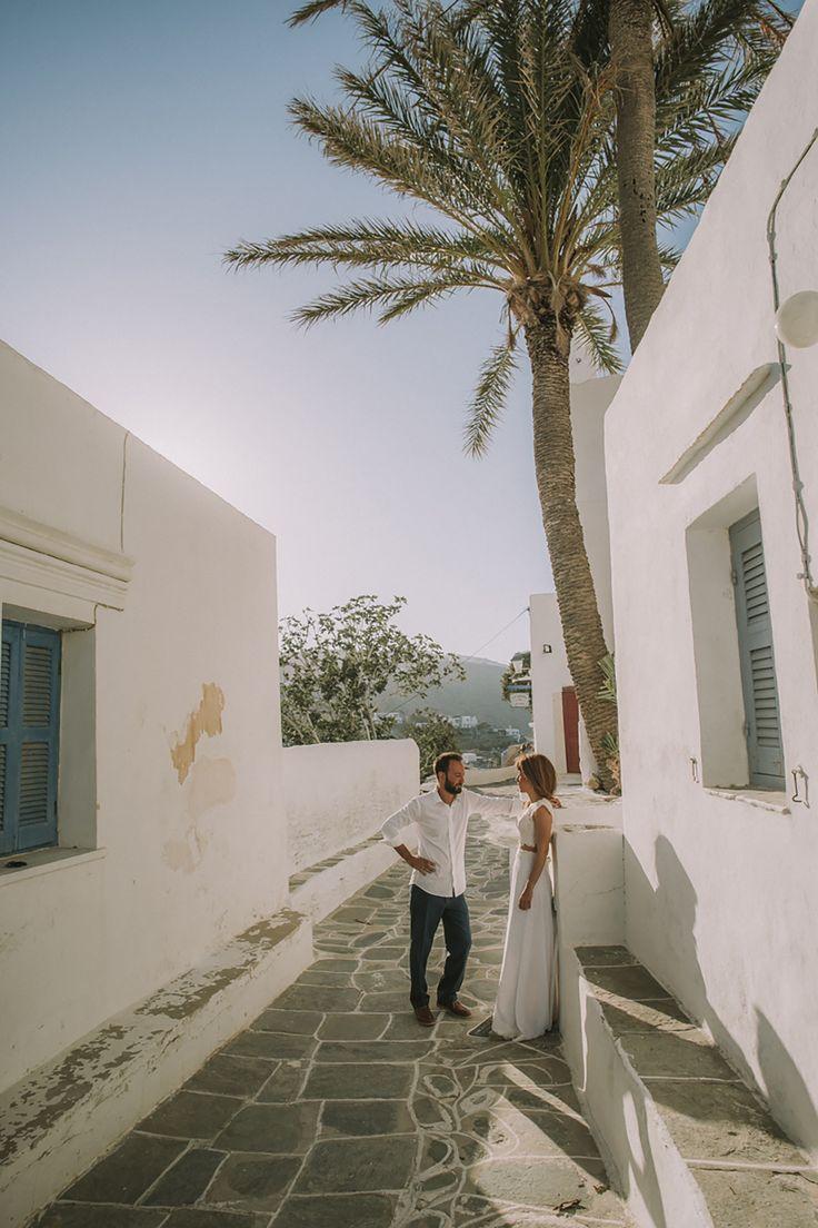 lafete, Sifnos, Cyclades, wedding shooting, village alley