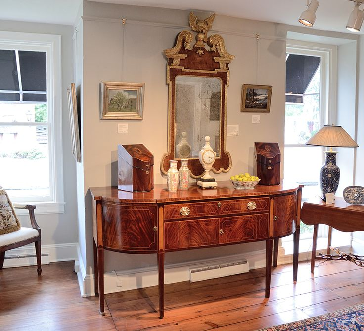 Hepplewhite inlaid mahogany sideboard antiques for the for Hepplewhite bedrooms