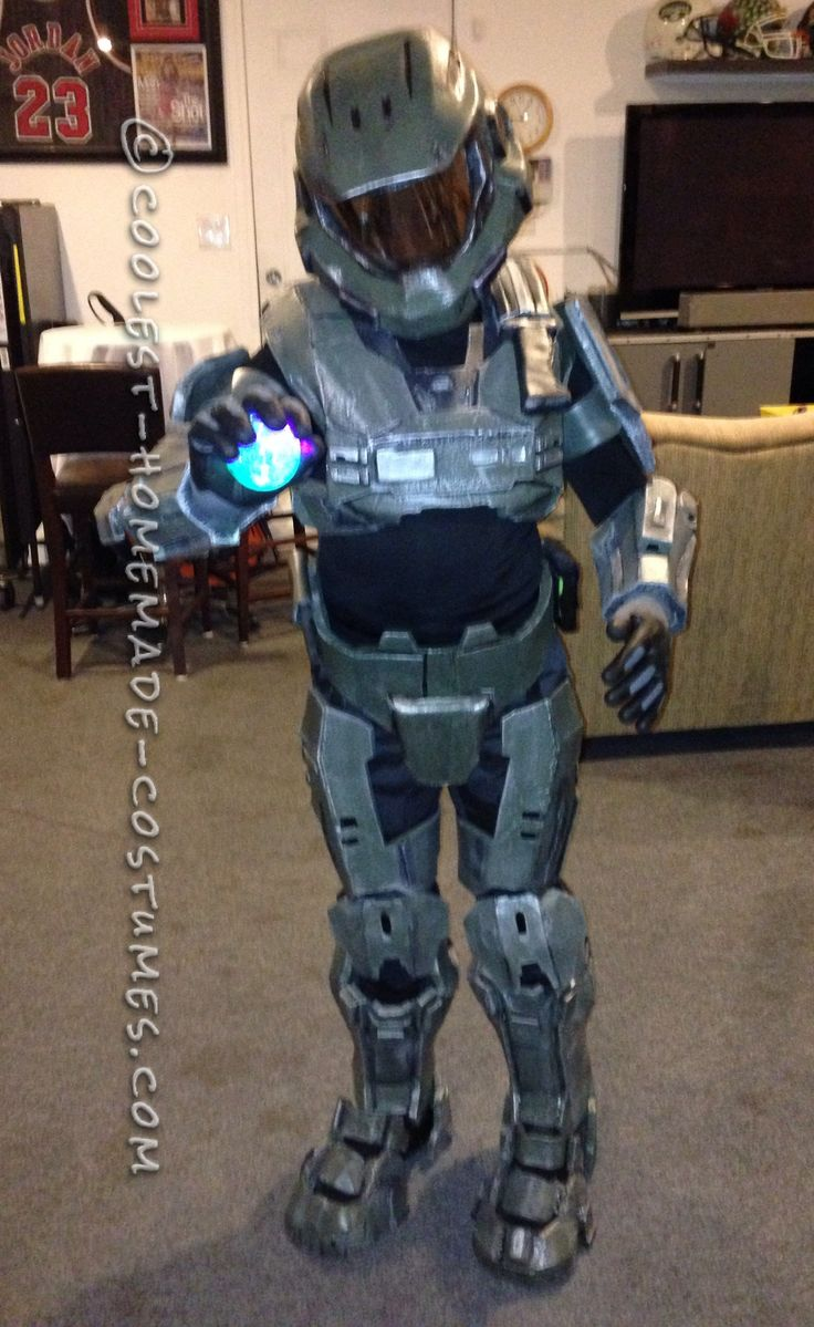 halo costume the first ever costume i built - Halloween Halo