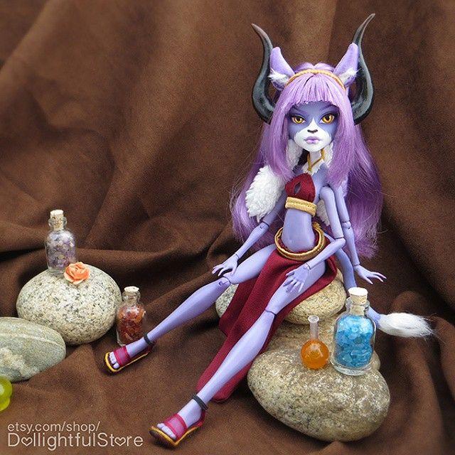 Quot Le Wa Quot Oc Commission Doll ☆ Monsterhigh Faceup