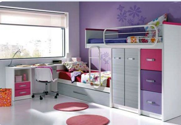 17 best images about camas altas armario on pinterest for Habitaciones infantiles dobles ikea
