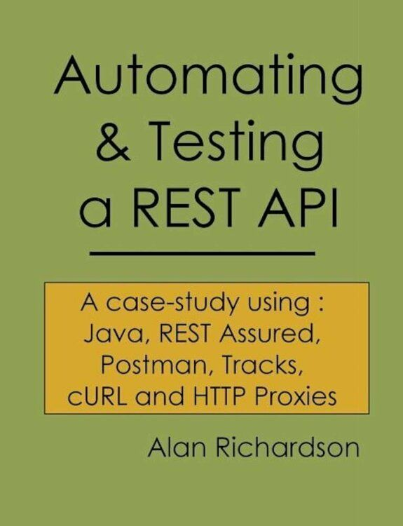 Automating And Testing A Rest Api A Case Study In Api Testing Using Java Rest Assured Postman Tracks Curl And Http Case Study Software Testing Automation