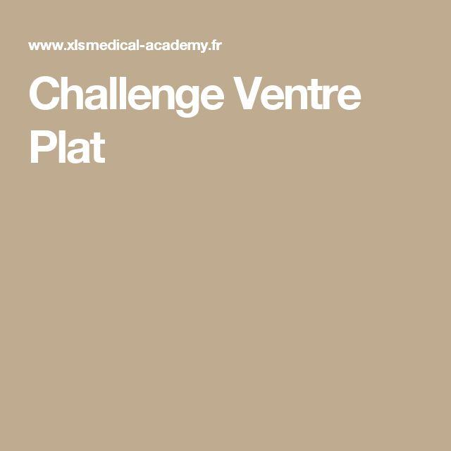 Challenge Ventre Plat