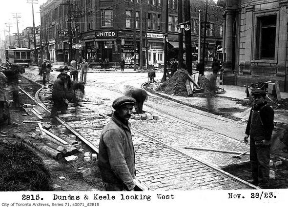 What the Junction used to look like.