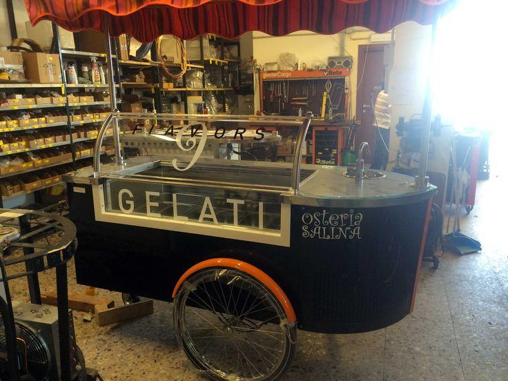 #tekneitalia #icecreamcart #gelatocart #foodtruck #gelato