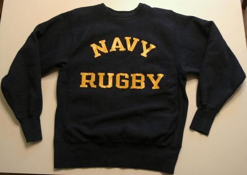 Vintage Champion Reverse Weave USN US Navy Rugby Sweatshirt | eBay