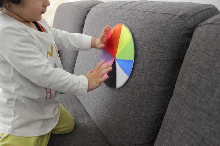 Kleuren leren   DIY (kinderactiviteit) - ministijl