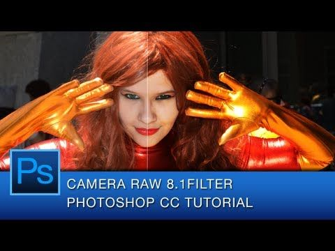 Photoshop CC Camera Raw 8.1 Filter Tutorial.  Graphic Designer Roberto Blake introduces the new Photoshop CC Camera Raw Filter Feature.