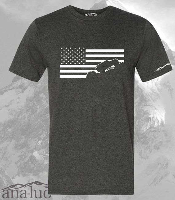 Check out this item in my Etsy shop https://www.etsy.com/listing/234520398/jeep-wrangler-shirt-usa-american-flag