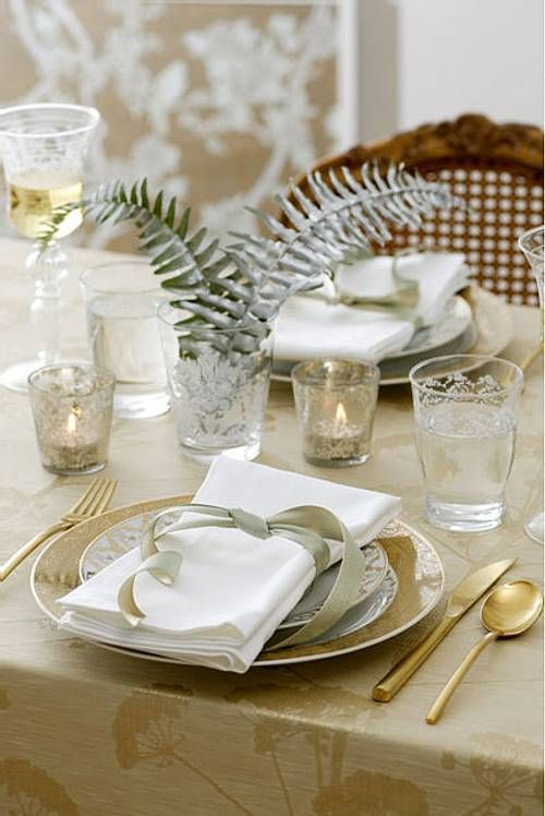 Ideas para la Mesa del Comedor: Christmas Table Decorations, Table Settings, Table Decoration, Mesas Decoración, Ideas Para, Christmas, Decoration Ideas, Christmas Decoration