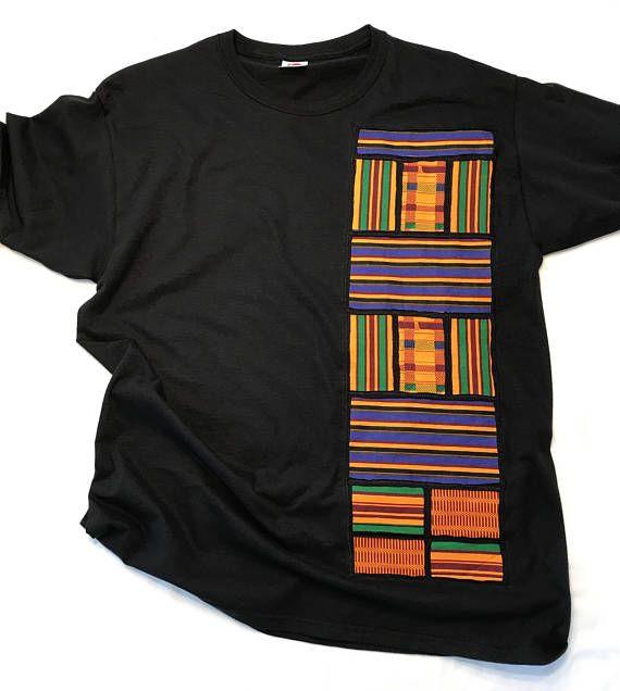 Kente chemise chemise africaine Ankara Dashiki Rasta reggae