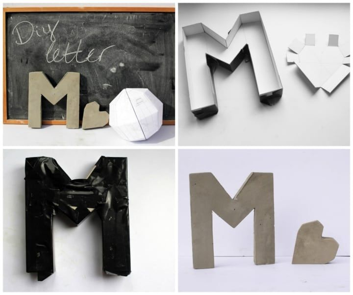 Make a letter mold out of cardboard- just be sure to wrap with lots of tape to avoid leaking. You could also make little shapes. This post shows you how.