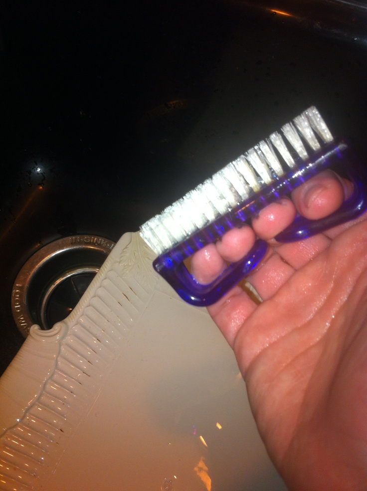 Captivating Super Idea! Use A Nail Brush (and Soap U0026 Water) To Clean Dishes. Cleaning  DayButler PantryFlutesCounter TopCanistersPantriesBrushesSoapsNail
