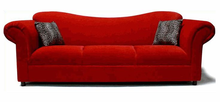 This sofa is SO interesting!  We would LOVE it in the Pumpkin!