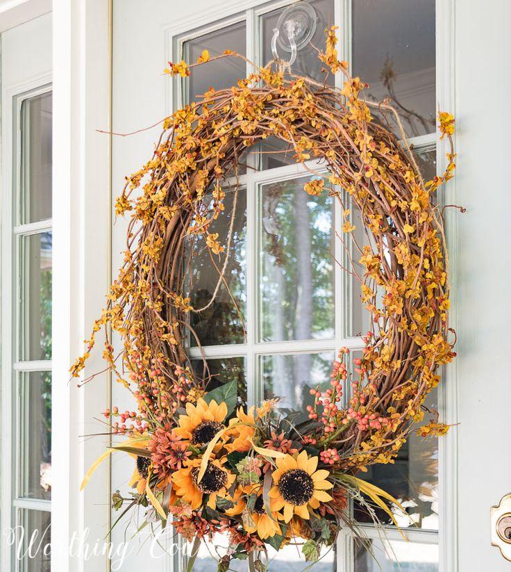 Easy DIY Fall Wreaths You Can Make