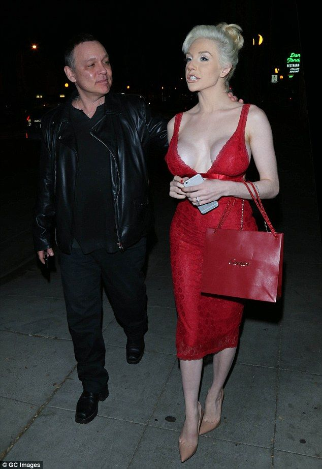 It's over:Courtney Stodden, 23, has filed for divorce from Doug Hutchison, 57, ending the...