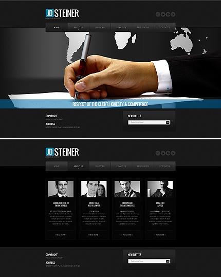 Law Firm Website Template #business #javascript #html http://www.templatemonster.com/website-templates/40599.html?utm_source=pinterest&utm_medium=timeline&utm_campaign=law