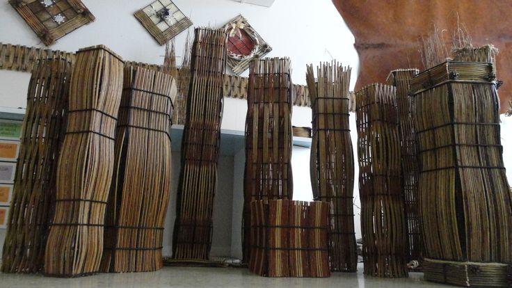 Pajutyöt. Willow weaving art from Pajupaja.